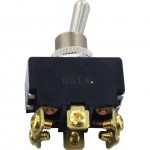6 Screw Bulk Terminal Toggle Switches ON-OFF-ON DPDT