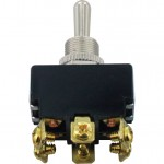 6 Screw Terminal Toggle Switch Momentary ON-OFF-ON DPDT