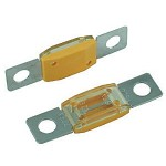 BOLT-ON HIGH AMP SIZE FUSES, 225 AMP TAN