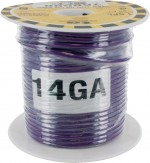MTW Stranded Wire 14 Awg Purple