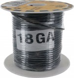 MTW TEW Equipment Wire 18 Awg Black
