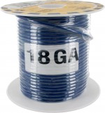 MTW TEW Equipment Wire 18 Awg Blue