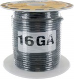 MTW Stranded Wire 16 Awg Gray