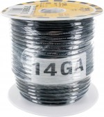 MTW Stranded Wire 14 Awg Black