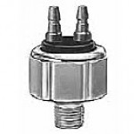 STOPLAMP SWITCH, HYDRUALIC, SPST, NORMALLY OFF, 2 MALE BULLET TERMINALS