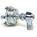"""3POSITION:ON-OFF-ON, 15A@12VDC, LEVER ACTUATOR, STEM 1/2""""-20 THREAD, 1 1/4""""LONG"""