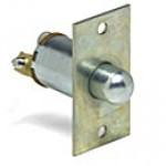 """SPST, NORMALLY OFF, 5A@12VDC, WITH FACEPLATE, 2 SCREWS, PLUNGER:7/16"""" LONG"""