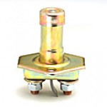 """OFF-ON, NORMALLY OFF. 2-STUD 5/16""""-24 THREAD, PLUNGER 1.83""""L, MOUNTING HOLES"""