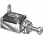 """GROUND SWITCHES, SINGLE CIRCUIT, 1 BLADE, PLUNGER: 33/64"""" LONG, 7/16""""-20 THREAD MOUNTING STEM"""