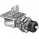 "SPST, NORMALLY OFF, 20A@12VDC, SILVER CONTACTS, 2 BLADES, 5/8""-32 MOUNTING STEM, 11/16"" LONG"