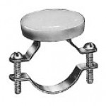 """HORN BUTTON, CLAMP MOUNT, LARGE BUTTON, 5A@12VDC, 1 3/4"""" DIAMETER CLAMP"""