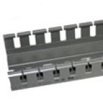"""A2540C is 1""""x 1.5"""" wire duct gray 6'6""""pc with cover"""