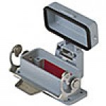 PANEL MOUNTING BASE - 10P+Ground  10A MAX - 600V  SINGLE LEVER AND COVER (CZI15LS)