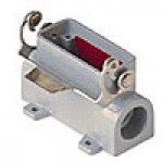 SURFACE MOUNTING BASE - 10P+Ground  10A MAX - 600V  SINGLE LEVER  DOUBLE PORT  CABLE GLAND PG 16x2 (CZP15L2)