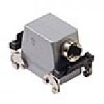 HOOD - 32P+Ground, 10A MAX - 600V, DOUBLE LEVERS, SIDE ENTRY, HIGH CONSTRUCTION CABLE GLAND NPT 3/4""