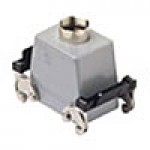 HOOD - 32P+Ground, 10A MAX - 600V, DOUBLE LEVERS, TOP ENTRY, HIGH CONSTRUCTION CABLE GLAND NPT 3/4""