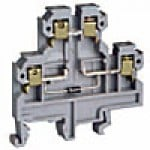 DIODE CIRCUIT TERMINAL DOUBLE LEVEL 25A 600V 22-12GA 6MM GRAY
