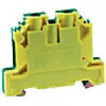 GROUND BLOCK 41A 600V 22-8AWG FOR 35MM DIN RAIL ONLY