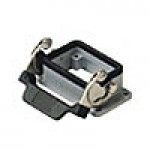 PANEL MOUNTING BASE - 6P+Ground  16A MAX - 600V  SINGLE LEVER (ILME CHI06L)
