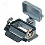 PANEL MOUNTING BASE - 10P+Ground  16A MAX - 600V  SINGLE LEVER AND COVER (ILME CHI10LS)