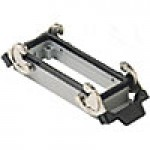PANEL MOUNTING BASE - 16P+Ground  16A MAX - 600V  DOUBLE LEVERS (ILME CHI16)