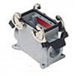 SURFACE MOUNTING BASE - 10P+Ground  16A MAX - 600V  DOUBLE LEVERS  SINGLE PORT  HIGH CONSTRUCTION  CABLE GLAND NPT 3/4""