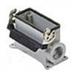SURFACE MOUNTING BASE - 16P+Ground  16A MAX - 600V  SINGLE LEVER  SINGLE PORT  HIGH CONSTRUCTION  CABLE GLAND NPT 1""