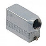 HOOD - 16P+Ground  16A MAX - 600V  TWO PEGS  SIDE ENTRY  CABLE GLAND PG 21 (ILME CHO16L)