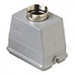 "HOOD - 48P+Ground  16A MAX - 600V  TWO PEGS  TOP ENTRY  CABLE GLAND NPT 1.25"" (ILME CHVT48.7L)"