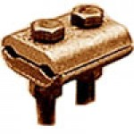 BRONZE GROUND CLAMP CONNECTOR 8Sol-4Str