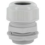 "DOME CAP CABLE GLAND M20  .23-.47""  GRAY COMPLETE WITH O-RING & LOCKNUT"