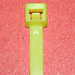 L418FL17M are 4 inch 18lb fluorescent yellow bulk cable ties 1000 pack. UL and CSA listed 4 inch 18lb fluorescent yellow bulk cable ties for bundling wire and cable.