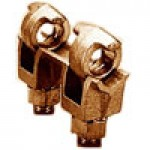 """CONNECTOR 500-2000 MCM FOR 1/4"""" to 3/4"""" THICK BAR TIN PLATED"""