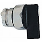 SPRING RETURN SELECTOR SWITCH, 3 POSITION., LONG HANDLE