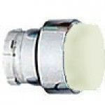 PROJECTING HEAD, SPRING RETURN, ACTUATOR METAL WHITE