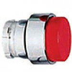PROJECTING HEAD, SPRING RETURN, ACTUATOR METAL RED
