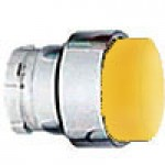 PROJECTING HEAD, SPRING RETURN, ACTUATOR METAL YELLOW
