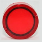 LENS FOR ILLUMINATING ACTUATOR, RED