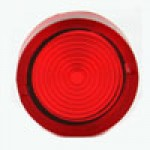 LENSE FOR LED/NEON ACTR RED