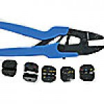 RATCHET TOOL KIT WITH 5 DIE SETS FOR (PVC, NON INSULATED, OPEN BARREL, FERRULES, NYLON) TERMINALS