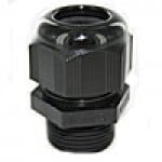 "RD21AR are dome cap nylon cable glands PG21 thread (.35-.63"") black"