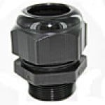 "RDM20AA are dome cap nylon cable glands metric M20 thread (.23-.47"") black"