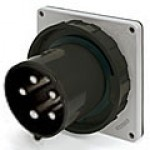 IP67/IEC309 PIN & SLEEVE INLET 30A  3 PHASE 347/600  4 POLE 5 WIRE  WATERTIGHT