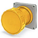 IP67/IEC309 PIN & SLEEVE RECEPTACLE 100A  125/250VAC  3 POLE 4 WIRE  WATERTIGHT