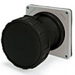 IP67/IEC309 PIN & SLEEVE RECEPTACLE 100A  3 PHASE 600VAC  3 POLE 4 WIRE  WATERTIGHT