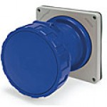IP67/IEC309 PIN & SLEEVE RECEPTACLE 100A  3 PHASE 250VAC  3 POLE 4 WIRE  WATERTIGHT