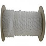 "SRPE10009C is 1"" natural spiral wrap 100ft roll"
