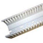 """2-1/4"""" x 2-1/4"""" E-DUCT WHITE 6'6""""PC WITH COVER"""