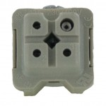 3 Pole Rectangular Connector Female Insert 10 Amp CKF03