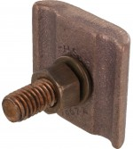 Bronze Ground Clamp Connector 4 - 2/0 Awg